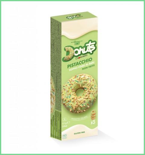 3 pcs pistachio donuts box