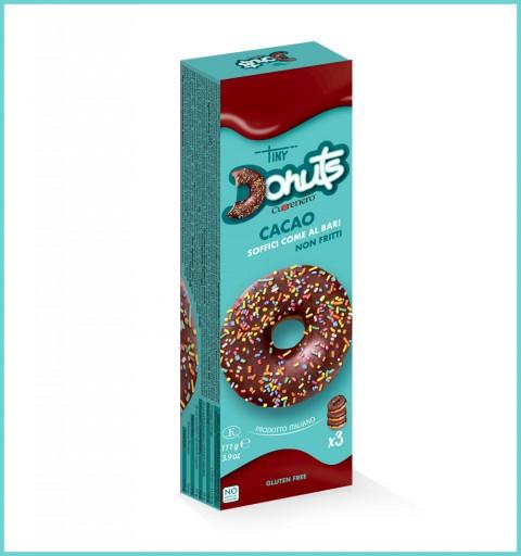 Astuccio 3 donuts cacao