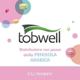 Ci trovate anche nella Penisola Arabica! 🌍  Tutti i prodotti Cuorenero sono distribuiti nella Penisola Arabica da Tobwell. Per info sugli acquisti ➡️ info@tobwell.com  ~~~  You can buy our products in Arabia! Contact info@tobwell.com for information 🇸🇦  #cuoreneroff #cuorenerodonuts #cuoreneroshop #tobwell #arabia #distributore