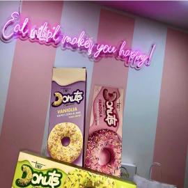 Mangiare i donuts @cuorenerofficial ci rende tanto felici🍩❤  Grazie @delicious_frattamaggiore per questo splendido scatto 👊  #cuoreneroshop #cuorenerofficial #donutscuorenero #donutscuorenero🍩 #donutlover